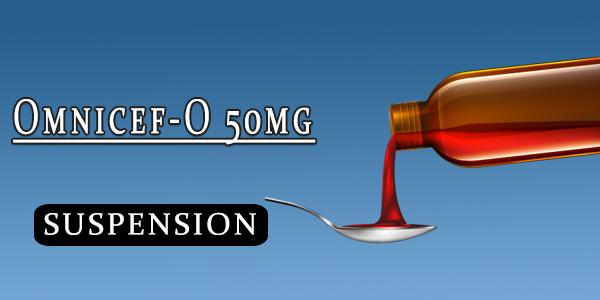 Omnicef-O 50mg Oral Suspension