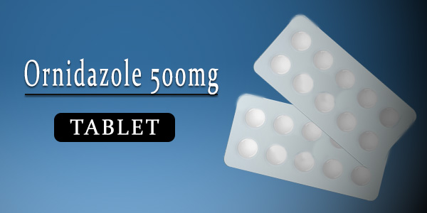 Ornidazole 500mg Tablet