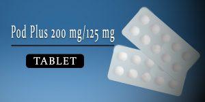 Pod Plus 200 mg-125 mg Tablet