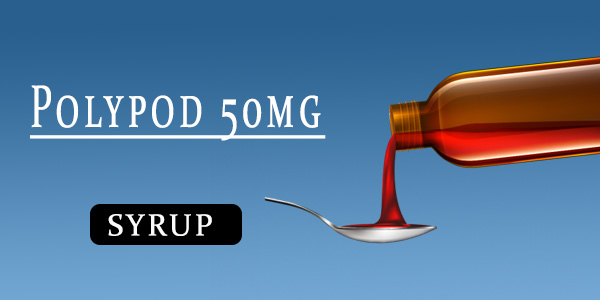 Polypod 50mg Dry Syrup