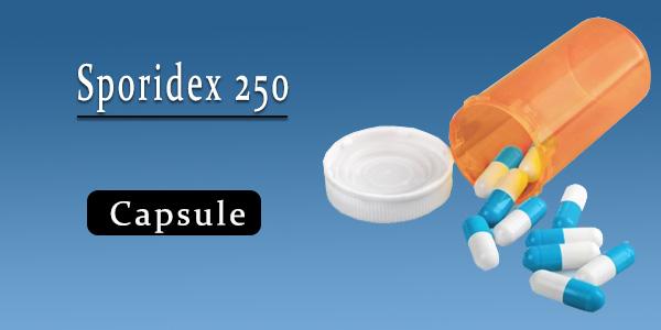 Sporidex 250 Capsule