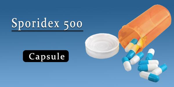 Sporidex 500 Capsule