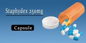 Staphydex 250mg Capsule