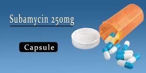 Subamycin 250mg Capsule