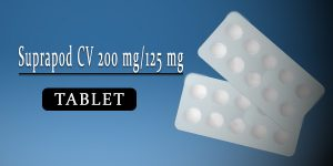 Suprapod CV 200 mg-125 mg Tablet