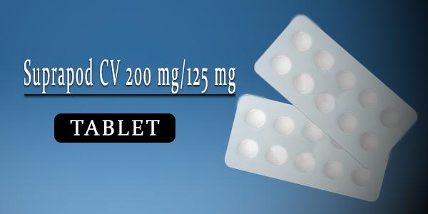 Suprapod CV 200 mg-125 mg Tablet
