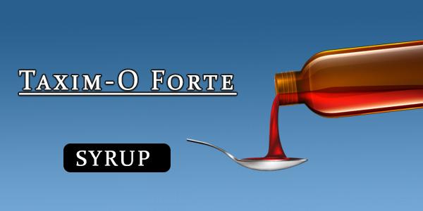 Taxim-O Forte Dry Syrup