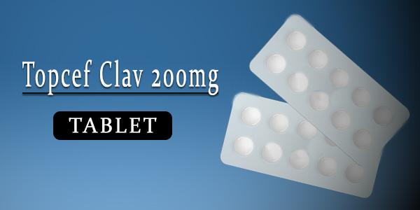 Topcef Clav 200mg Tablet