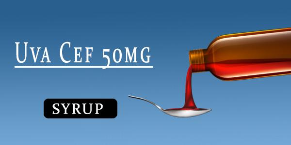 Uva Cef 50mg Dry Syrup