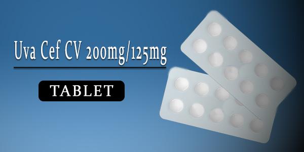 Uva Cef CV 200mg-125mg Tablet
