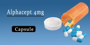 Alphacept 4mg Capsule
