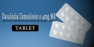 DavaIndia Tamsulosin 0.4mg Tablet MR