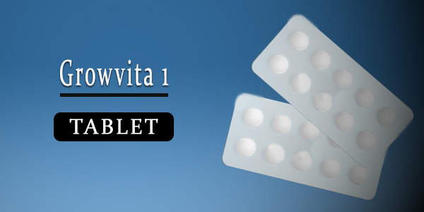 Growvita 1 Tablet