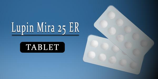 Lupin Mira 25 Tablet ER