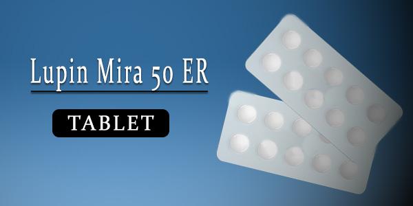Lupin Mira 50 Tablet ER