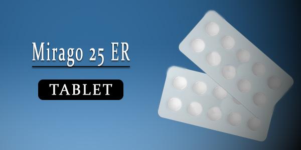 Mirago 25 Tablet ER