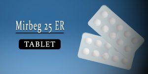 Mirbeg 25 Tablet ER