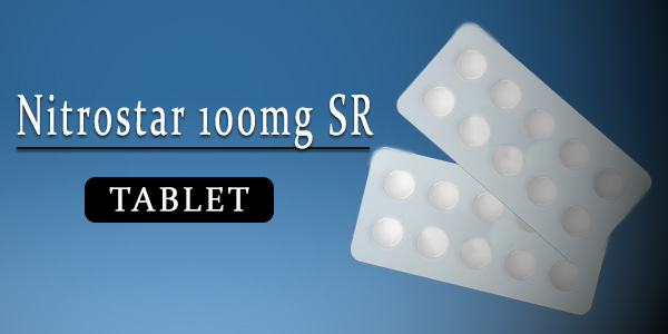 Nitrostar 100mg Tablet SR