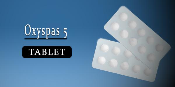 Oxyspas 5 Tablet