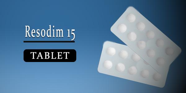 Resodim 15 Tablet