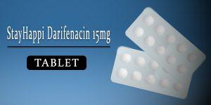StayHappi Darifenacin 15mg Tablet