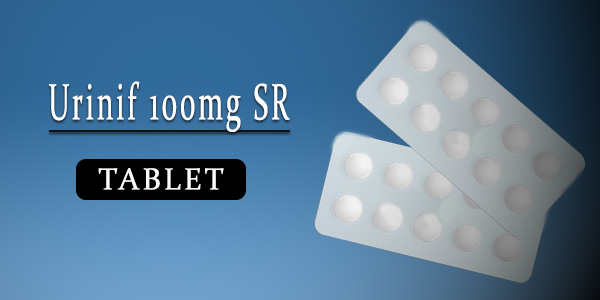 Urinif 100mg Tablet SR