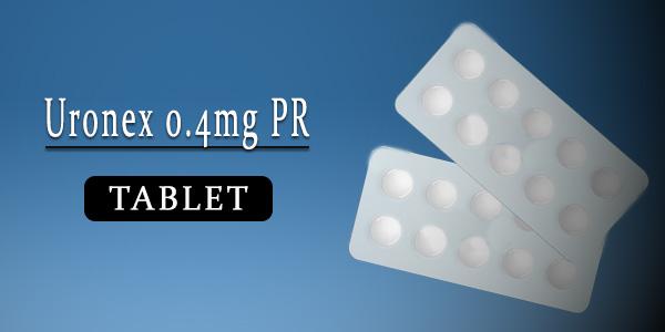 Uronex 0.4mg Tablet PR