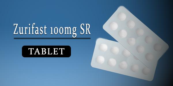 Zurifast 100mg Tablet SR