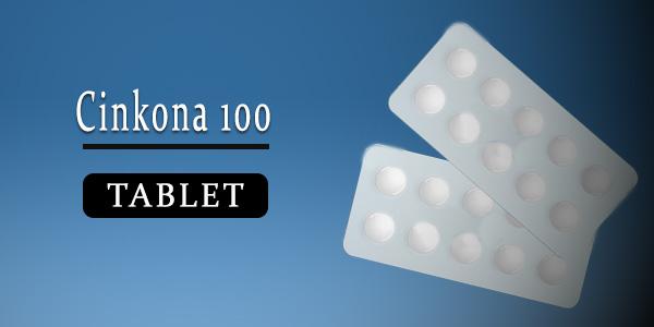 Cinkona 100mg Tablet