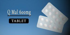 Q Mal 600mg Tablet