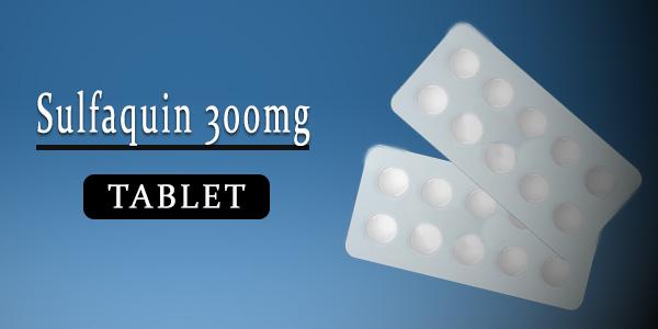 Sulfaquin 300mg Tablet