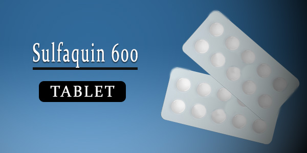 Sulfaquin 600mg Tablet