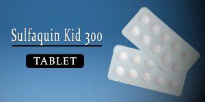 Sulfaquin Kid 300mg Tablet