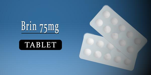 Brin 75mg Tablet